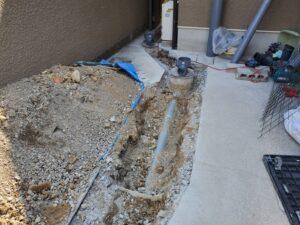 汚水管詰まりのトラブル